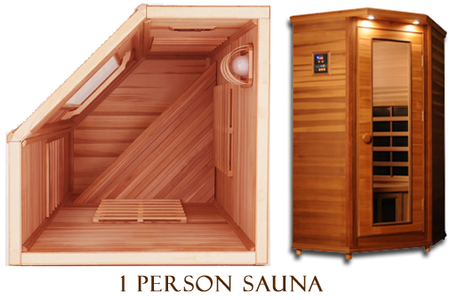 clearlight premier is c cedar infrared sauna 1 person. Black Bedroom Furniture Sets. Home Design Ideas