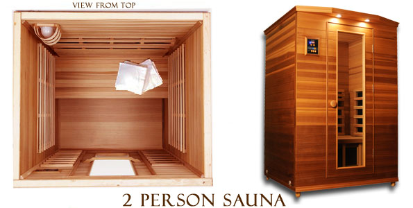 clearlight premier is c cedar infrared sauna 2 person. Black Bedroom Furniture Sets. Home Design Ideas